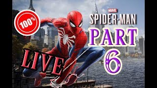 CalvertSheik Plays Marvel's Spider-Man Part 6 (LIVE) 100% Trophies