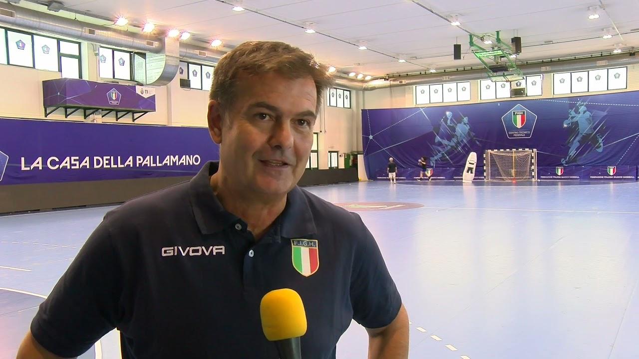 Nazionali U19 in stage a Chieti: il punto con il DT Riccardo Trillini