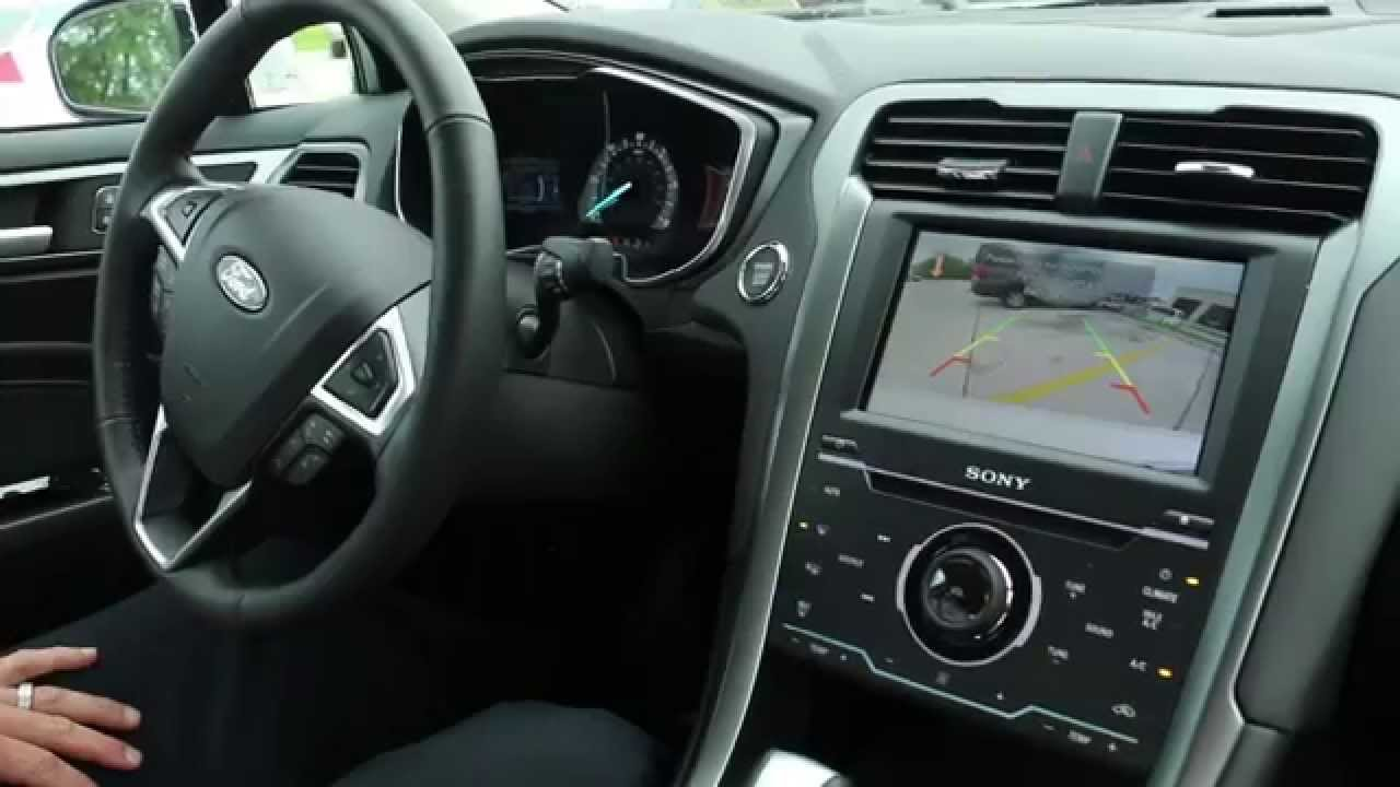New 2014 Ford Fusion Hybrid Titanium Test Drive Stivers Ford Lincoln In Des Moines Iowa