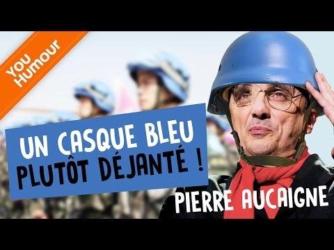 Pierre Aucaigne, un casque bleu plutôt déjanté !