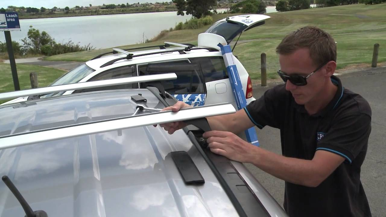 CRUZ ROOF RACKS - VEHICLES WITH FIX POINTS - YouTube