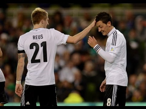 Mesut Ozil penalty goal puts Germany three up in Ireland