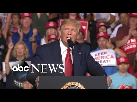 Trump at rally: 'You have no choice but to vote for me'   ABC News