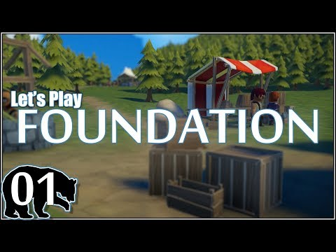 Let's Play Foundation (Alpha) [E01] Laying the Foundation