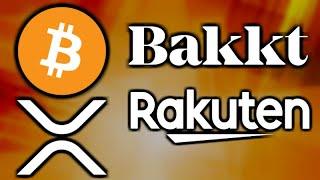 Bitcoin & Crypto News - Bakkt's New CEO - Rakuten Loyalty Program Crypto - GoCrypto Expansi