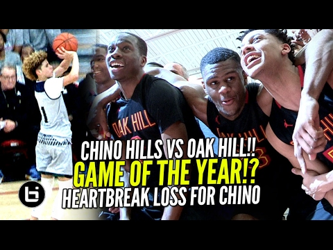 Oak Hill Academy Hands Chino Hills 1st Loss In 2 YEARS!! EPIC Game Goes Down To The Wire!