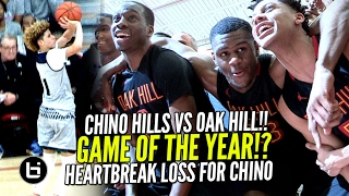 Chino Hills Vs OAK Hill Academy EPIC GAME! Ch...