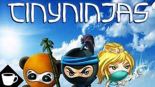 VLOG | TINY NINJAS CARD GAME REVIEW!