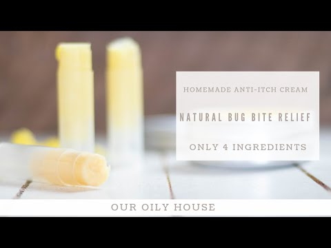 Homemade Anti-Itch Cream | Natural Bug Bite Relief