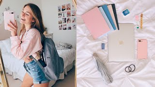what's in my backpack 2019! (senior year wooo)