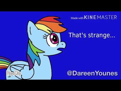 """Rainbow Dash Turns Into A Werewolf! """"MLP"""""""
