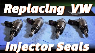 How To Replace Volkswagen GLI Injector Seals - Underdog Garage