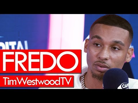 Fredo on Third Avenue his drip focusing on  track for his mum tour - Westwood