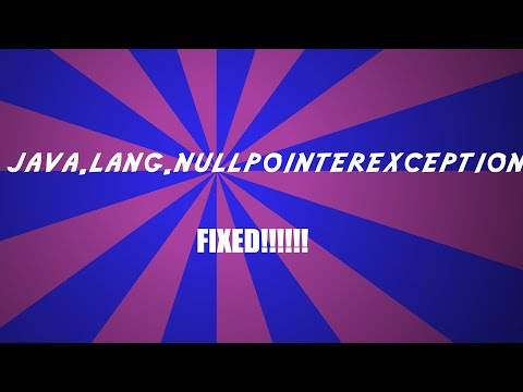 Java.lang.nullpointer Exception:group  Fix [working And Real]