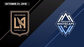 HIGHLIGHTS: Los Angeles Football Club vs. Vancouver Whitecaps FC | October 21, 2018