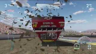 NASCAR The Game: Inside Line Online Crash Compilation #1