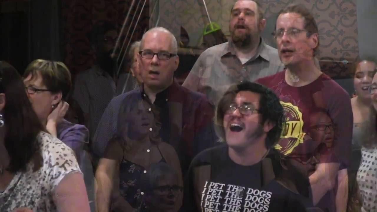 "Flash Chorus sings ""I Will Wait"" by Mumford & Sons - YouTube"