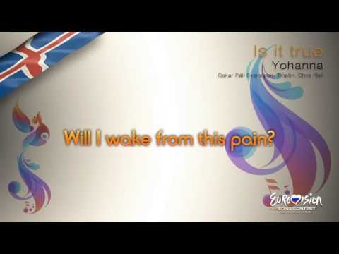 "Yohanna - ""Is It True"" (Iceland) - [Karaoke version]"