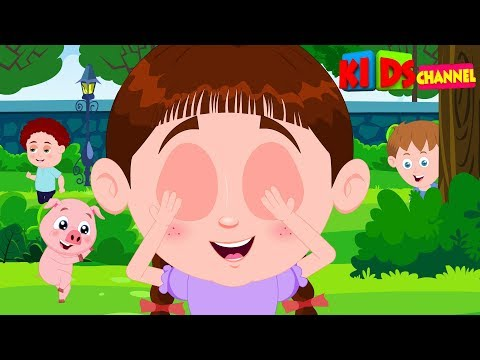 Schoolies | Hide and Seek | Hide and Seek by Kids Channel | Nursery rhymes for children