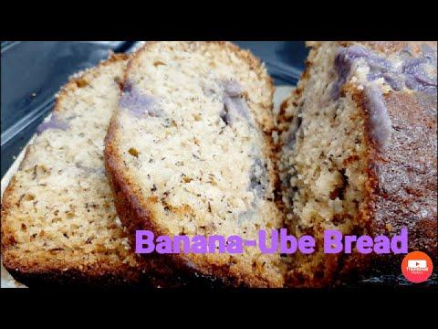 How to make a super moist Banana-Ube bread