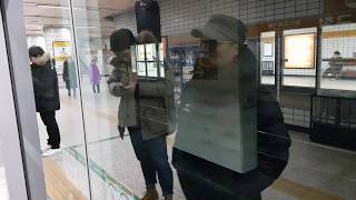 20171209 서울6호선 마포구청역 진입 (봉화산행 열차) Korea Seoul metropolitan