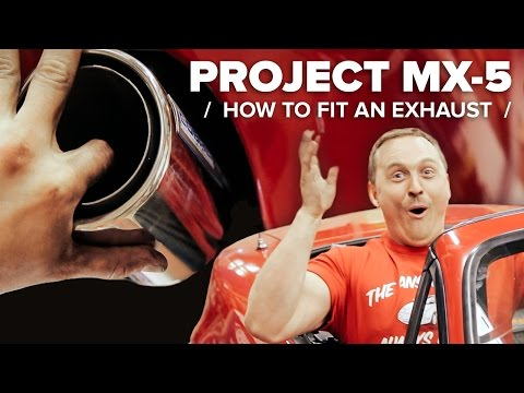 Project MX-5: How To Fit A Performance Exhaust