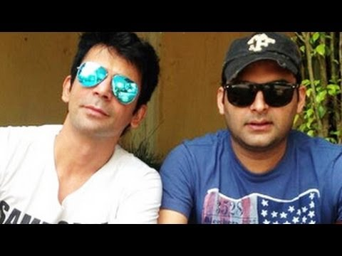 Image result for Kapil Sharma did not react for remarks on the battle. Sunil Grover answered with an SMS, Too bad, no meetings for some days.