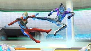 Sieu Nhan Game Play | Ultraman Legend Mebius Battle Mode | Game Ult...