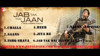 Download lagu Jab Tak Hai Jaan Full Songs Jukebox MP3