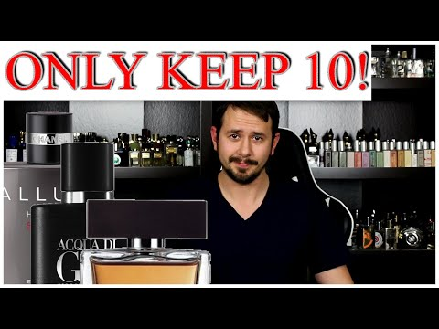 KEEP ONLY 10 FRAGRANCES FOR LIFE - Designer / Toss Out The Rest of My Collection | TAG VIDEO