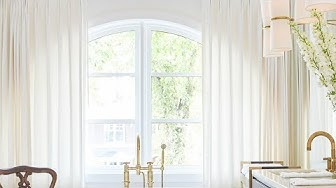 Designer Tips For Arched Window Treatments