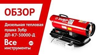 Огляд дизельної теплової гармати ЗУБР ДП-К7-30000-Д