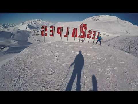Ski 2018, Les Deux Alpes, France [GoPro]
