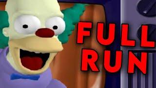 The Simpsons: Hit & Run 100% Speedrun in 2:55:25