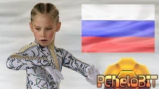 Юлия Липницкая - невероятные вращения./ Julia Lepnitskaya - incredible rotation.(https://twitter.com/PCheloBIT., 2014-02-23T21:21:56.000Z)