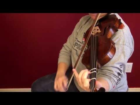"""""""Allegro"""" from Suzuki Book 1, slow, violin only"""