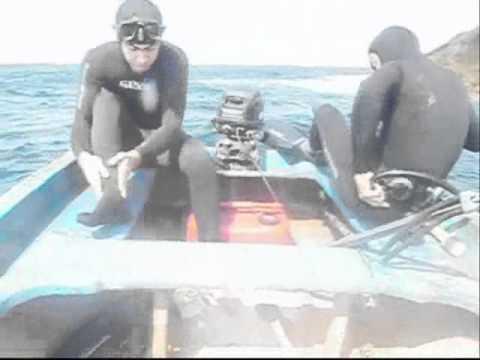 film de la chasse sous marine a oran avec DJ Kamil le 30 septembre 2011 parti (01)