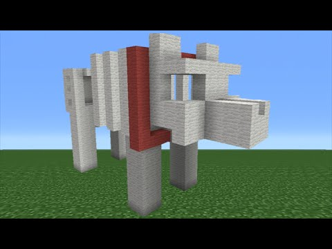 How To Make A Dog Statue In Minecraft