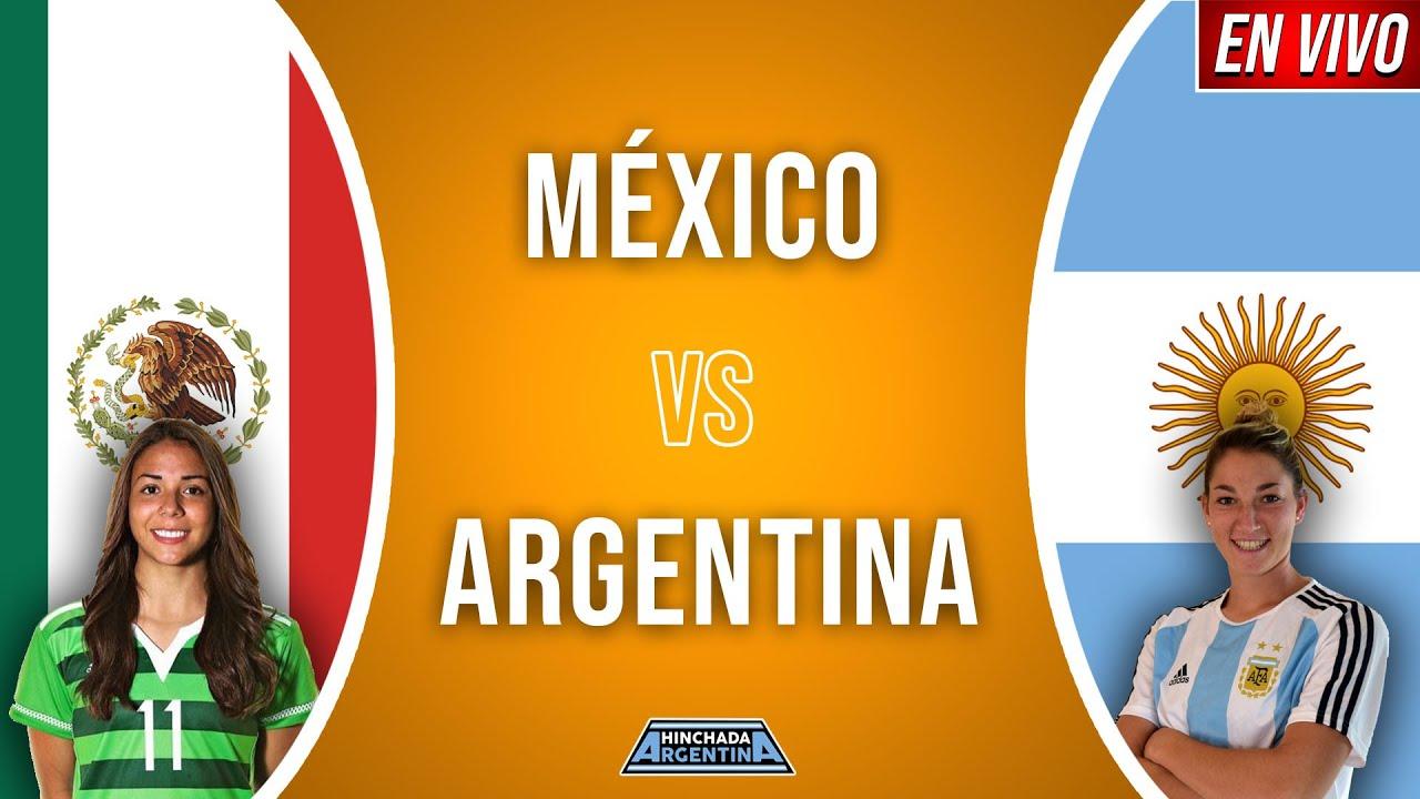 MEXICO VS ARGENTINA FUTBOL FEMENINO EN VIVO 🔴 | AMISTOSO INTERNACIONAL - ONLY AUDIO