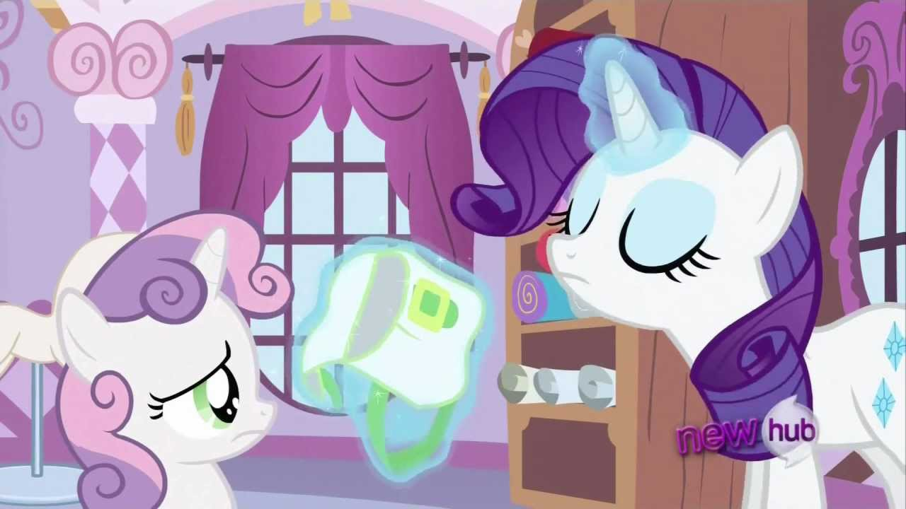 My little pony rarity and sweetie belle - photo#37