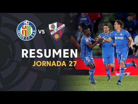 Resumen de Getafe CF vs SD Huesca (2-1)