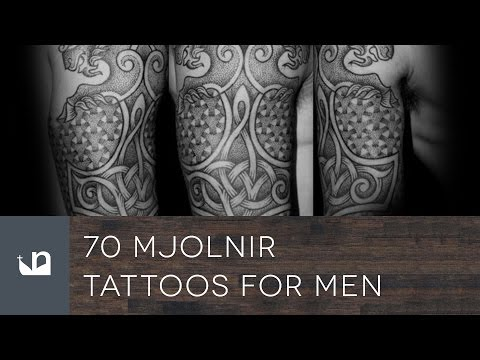 70 Mjolnir Tattoos For Men