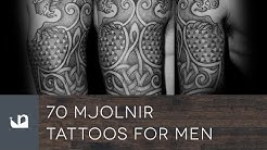 70 Mjolnir Tattoos For Men