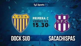 Dock Sud vs Sacachispas FC full match