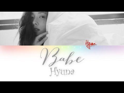 Hyuna (현아) – Babe (베베) Color Coded Lyrics HAN/ROM/ENG