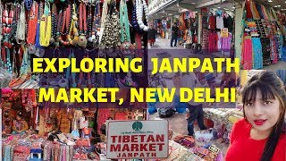 Janpath market 2019 New Delhi || Cheap street shopping || Boho clothing,bags,jewellery and much more
