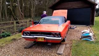 Autocar uncut: 1968 Dodge Charger long-term test car - first warm start