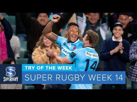 TRY OF THE WEEK: 2018 Super Rugby Week 14