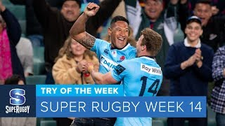 TRY OF THE WEEK: 2018 Super Rugby Week 14