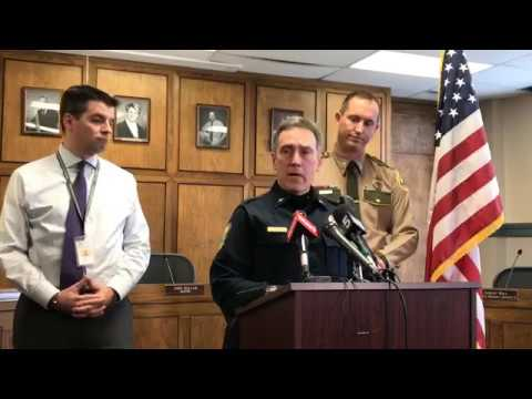 Montpelier Police press conference on the armed standoff at Montpelier High School